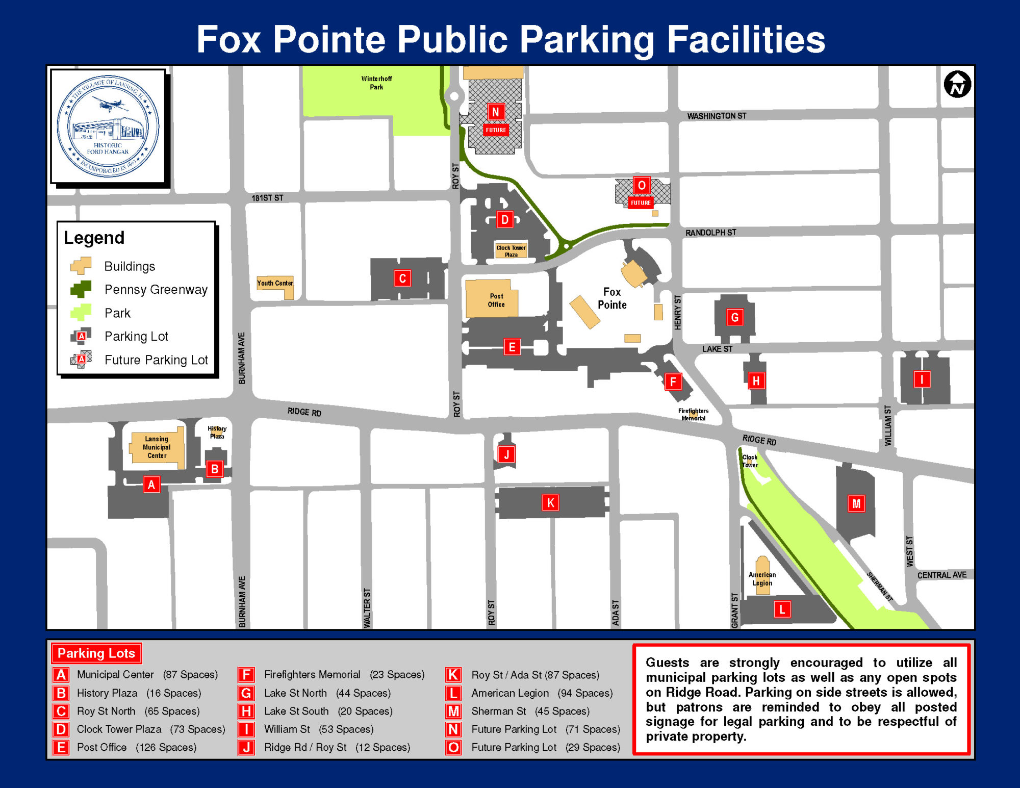 fox pointe map