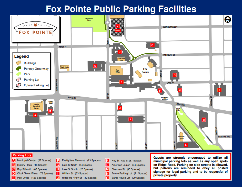 FoxPointeParking2020